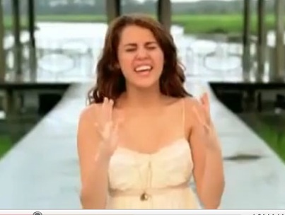 """Miley Cyrus Gets All Heartfelt and Stuff in New """"When I Look at You"""" Clip (VIDEO)"""