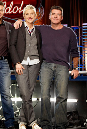 Ellen DeGeneres and Simon Cowell Totally Hate Each Other