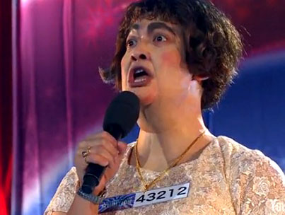 The Japanese Tranny Susan Boyle Impersonator Was Inevitable (VIDEO)