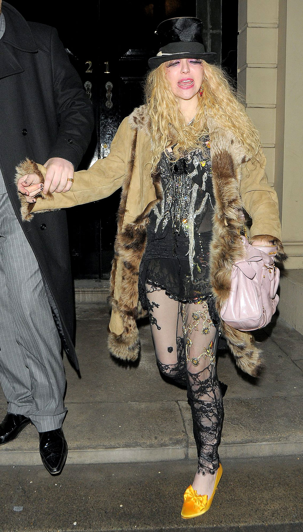Courtney Love Caps Off the NME Awards With a Nice, Subdued Evening. LOL, Not Really.