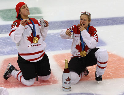 Today On The Internet: Canadian Hockey Players Gone Wild!