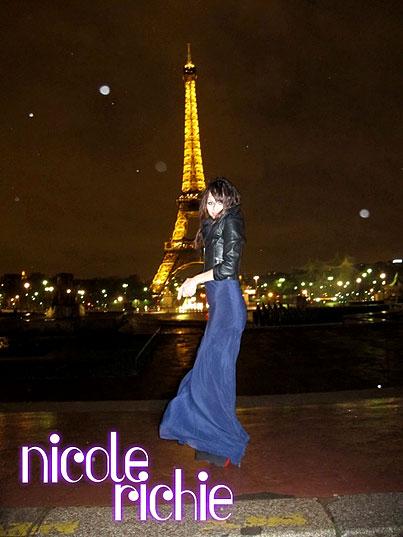 Nicole Richie's Fabulous Parisian Vacation (PHOTOS)