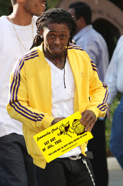 "Lil' Wayne Is Running Low on ""Get Out of Jail Free"" Cards"