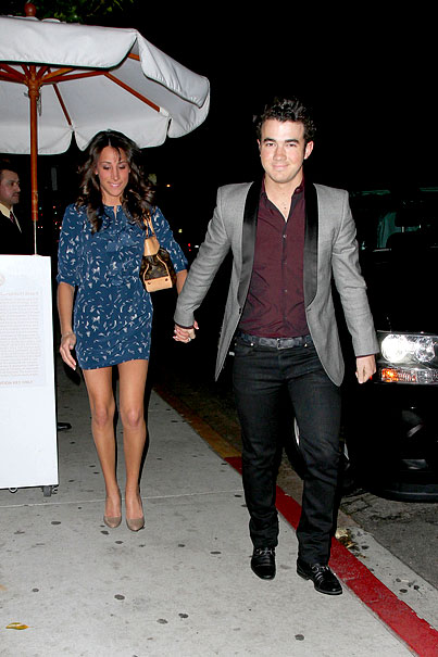 Kevin Jonas Spoils His Boo At Nobu (PHOTOS)