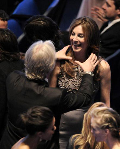James Cameron Is So Happy For His Ex-Wife's Oscar Win That He Could Just Choke Her (Caption This)