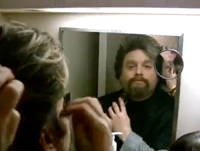 Today On The Internet: Zach Galifianakis Shaves His Beard