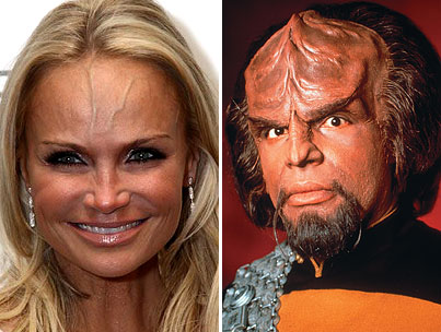 "Kristin Chenoweth Is Really Trying To Land ""Worf"" Role in ""Star Trek"" Sequel (PHOTO)"