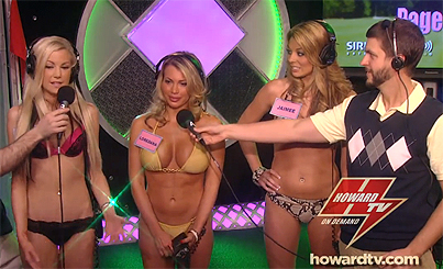Howard Stern Crowns The Queen Of Tiger Woods' Mistresses In Classiest Bikini Pageant Ever (PHOTOS)