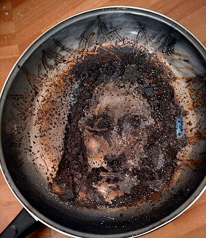 Today On The Internet: Jesus in a Pan