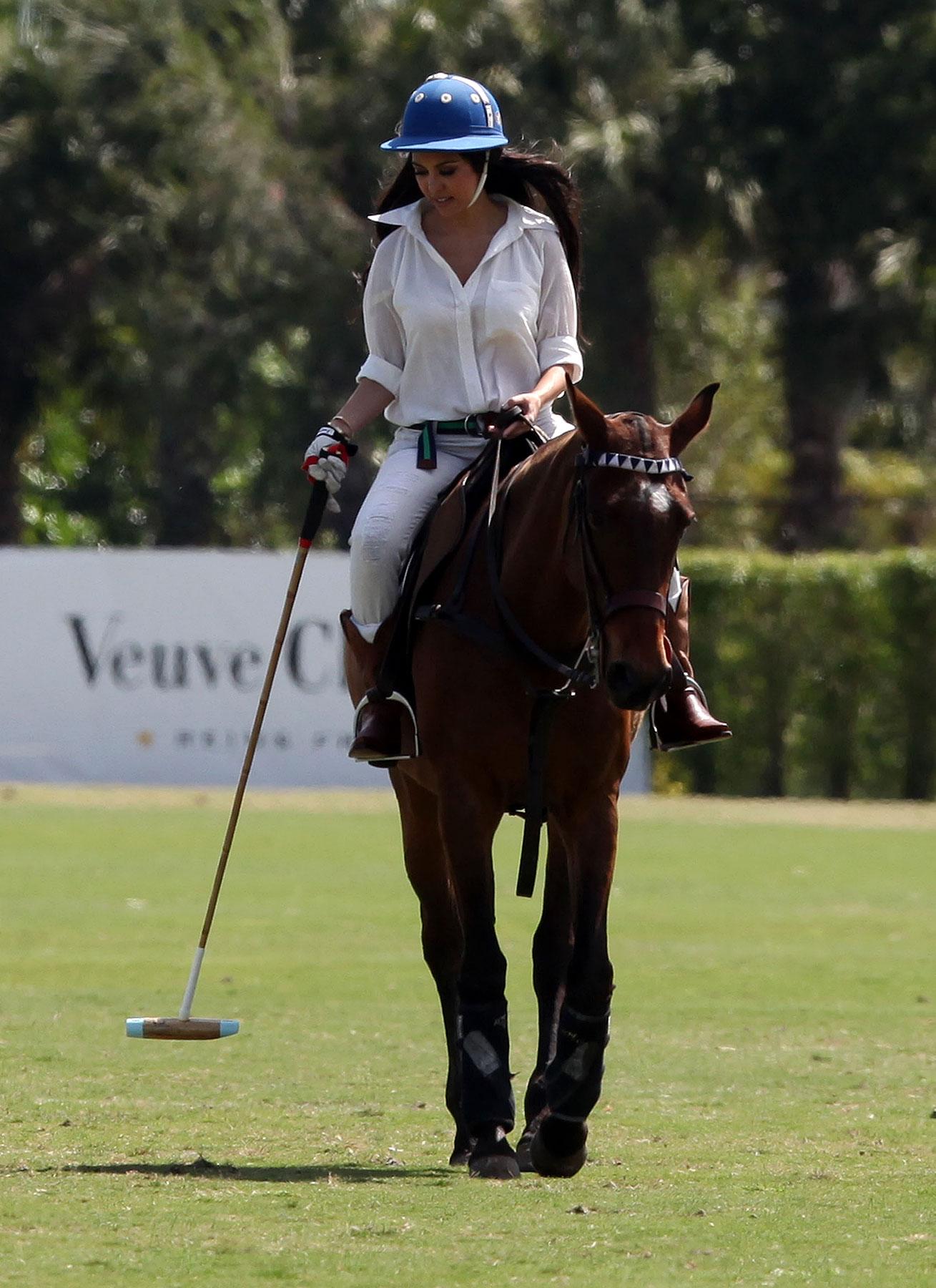 The Kardashians Klass Up A Polo Match (PHOTOS)