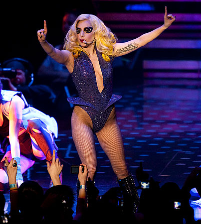 Lady Gaga Collapses From Too Much Fierceness During Concert In New Zealand