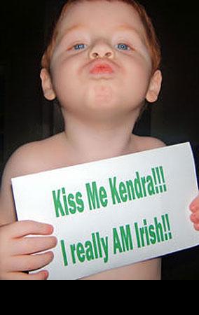 Kendra Wilkinson's 'Kiss Me I'm Irish' Contest: The Winners (PHOTOS)