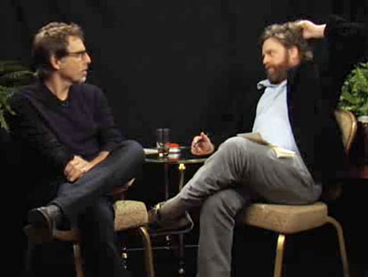 Ben Stiller Finds Himself Stuck Between Zach Galifianakis' Two Ferns of Awkward Hilarity (VIDEO)