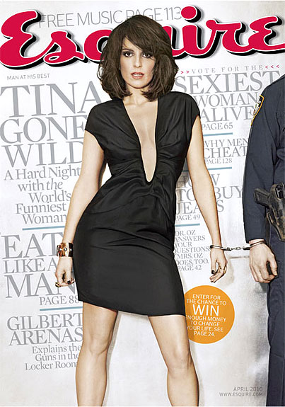 Tina Fey Is A Smart Girl Gone Wild In Esquire (PHOTOS)