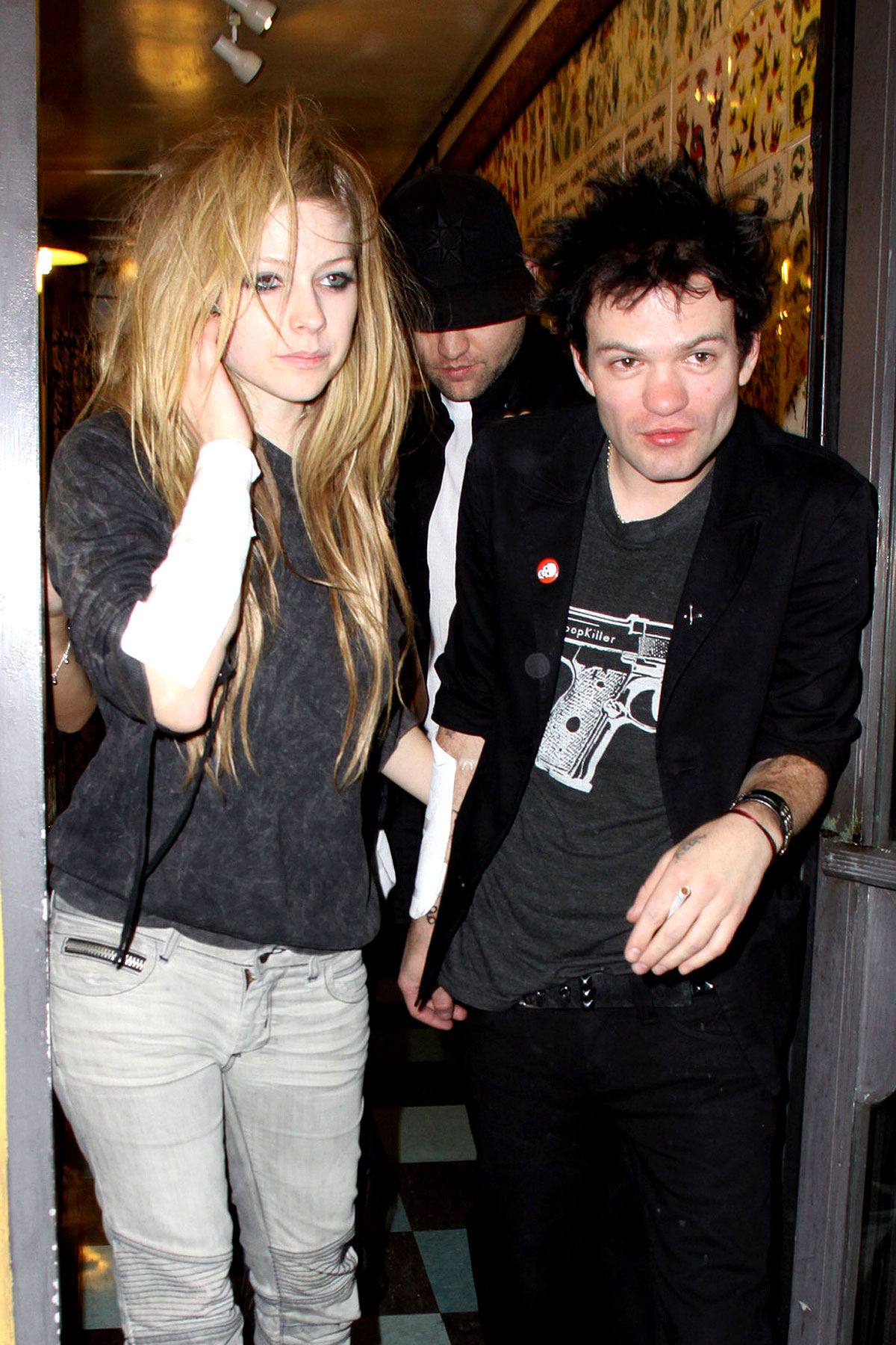 Avril Lavigne and Deryck Whibley: Re-Inked and Re-Linked? (PHOTOS)