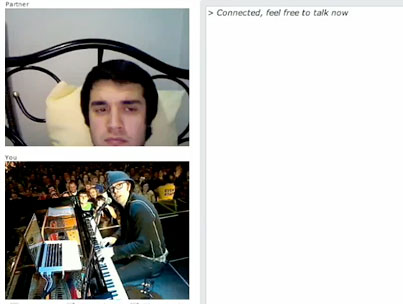 Today On The Internet: Is Ben Folds The Piano Chatroulette Player?