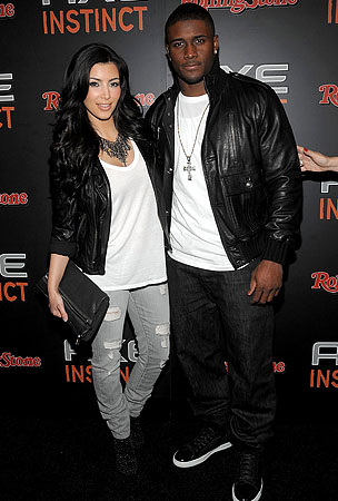 Kim Kardashian And Reggie Bush On The Rocks?