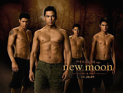 Giveaway: Win an Autographed 'New Moon' Wolf Pack Poster!