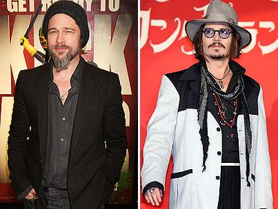 Brad Pitt Is Slowly Morphing Into Johnny Depp