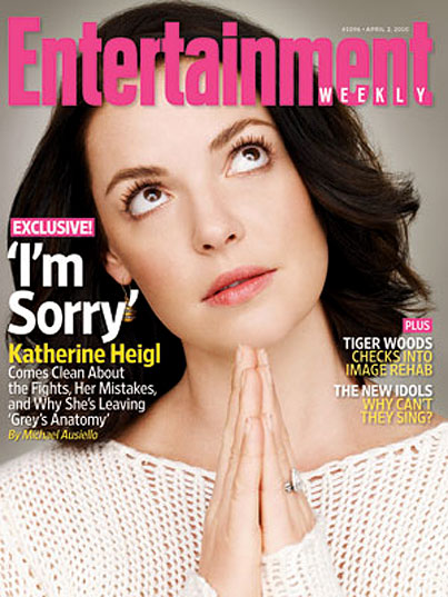 """Katherine Heigl Begins The """"Please Like Me Again"""" Tour With Saintly Interview"""