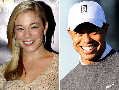 BUZZINGS: LeAnn Rimes And Tiger Woods Used To Date Back When That News Would Have Been Surprising