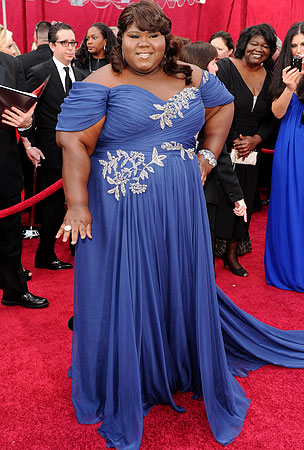 Gabourey Sidibe Is Reportedly Too Big For 'Vogue,' Says Starving Fashionistas