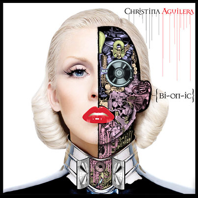 """Christina Aguilera Goes for the Way-Hot """"Terminator Sexy"""" Look on Her New Album Cover"""