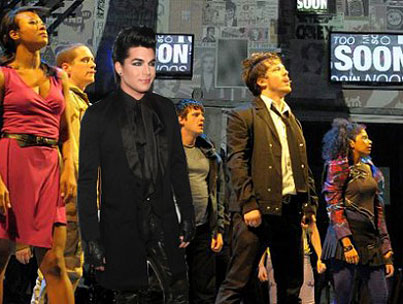 Today On The Internet: Five Movie Musicals Adam Lambert Should Star In NOW!