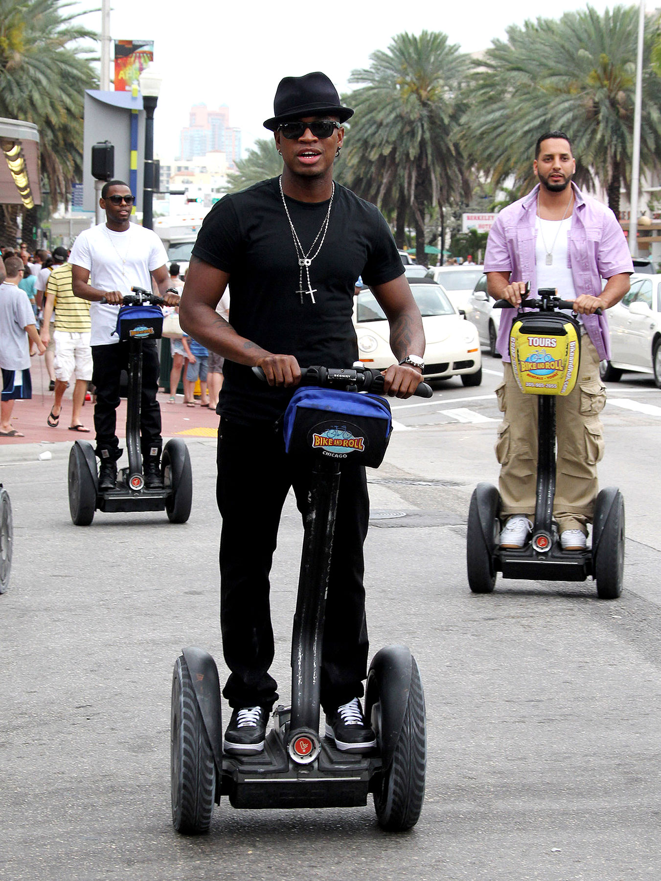 Ne-Yo's Rolling Nerdy in Miami (PHOTOS)