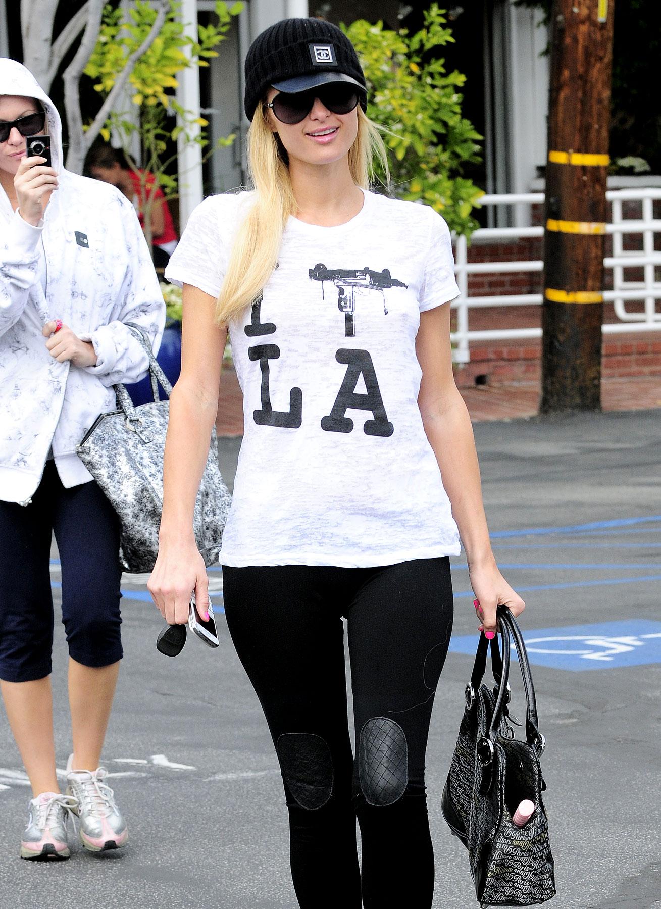 Paris Hilton Has Mixed Feelings About LA (PHOTOS)
