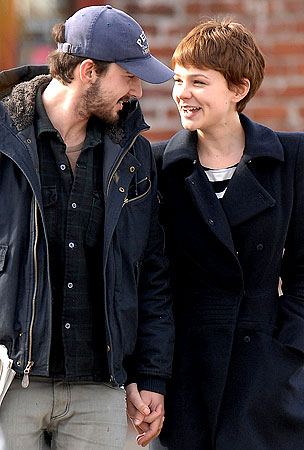 Carey Mulligan And Shia LaBeouf Are In Love And They Don't Care Who Knows It!