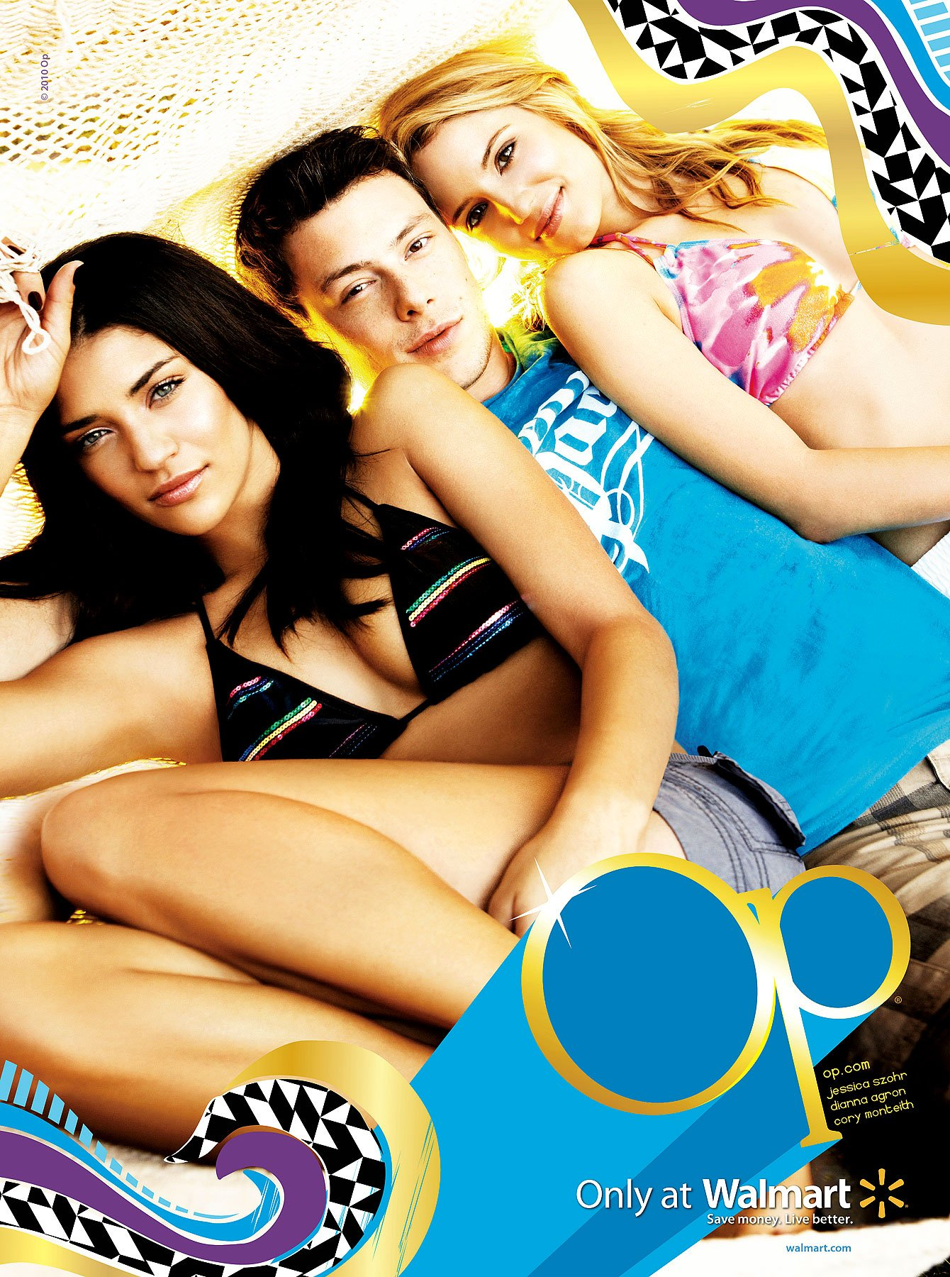 'Gossip Girl' Jessica Szhor Bikinis With 'Glee' Cast For Op (PHOTOS)