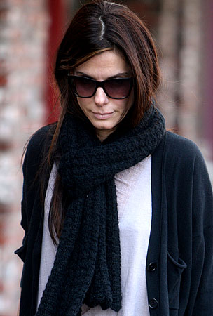 BUZZINGS: Sandra Bullock Ventures Into The Outside World