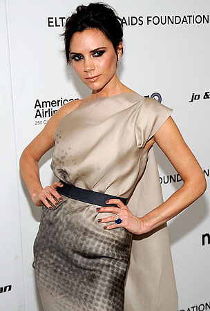 Victoria Beckham Gains Weight To Get Pregnant