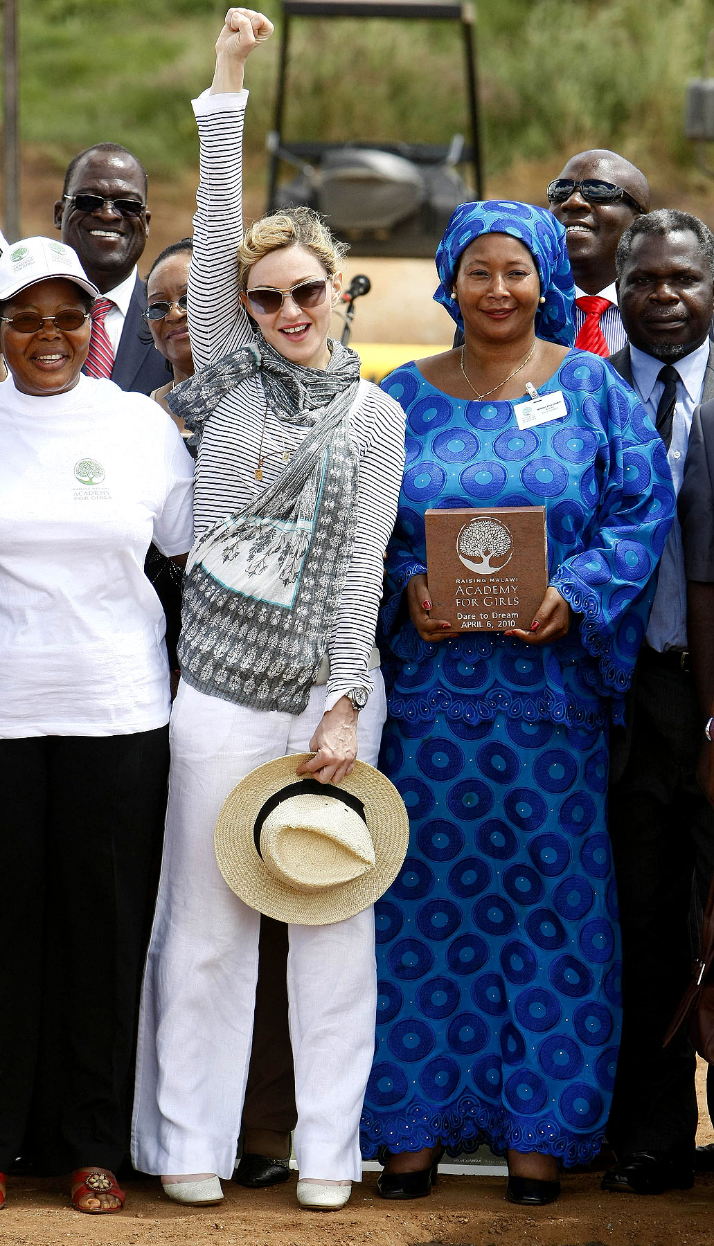 Madonna Channels Oprah, Builds Academy For Girls In Malawi (PHOTOS)