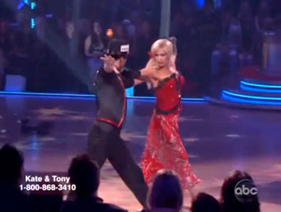 Kate Gosselin and Her Three Left Feet Grace 'Dancing With the Stars' (VIDEO)