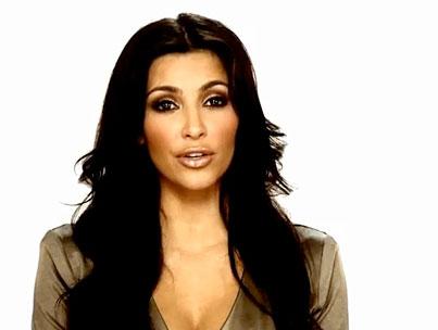 Kim Kardashian Gives a Damn (VIDEO)