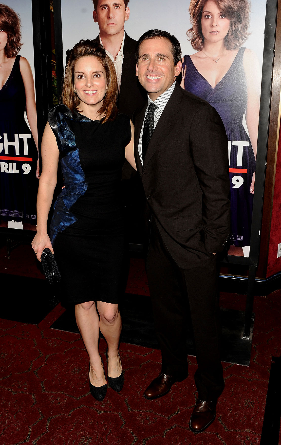 Tina Fey And Steve Carell Step Out For 'Date Night' Premiere (PHOTOS)