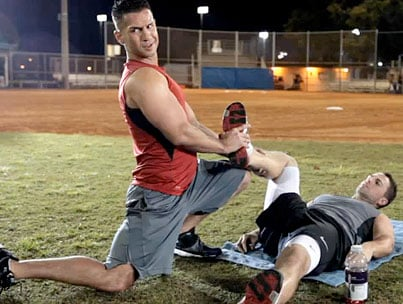 Jersey Shore's The Situation Schools David Wright in Guido Fitness (VIDEO)