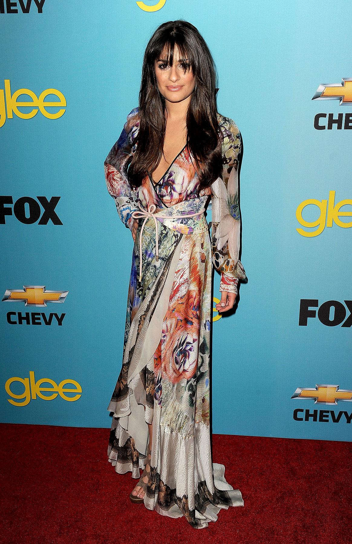 Fashion FTW: Lea Michele Looks Exotically Boho Amazing (PHOTOS)