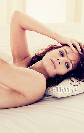 Kara DioGuardi and Emmanuelle Chriqui Get Naked In 'Allure' (PHOTOS)