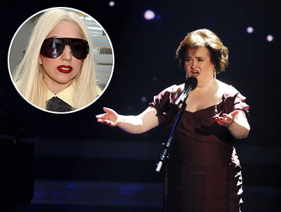 Susan Boyle Wants to Collaborate With Lady GaGa on the Greatest Duet Ever!