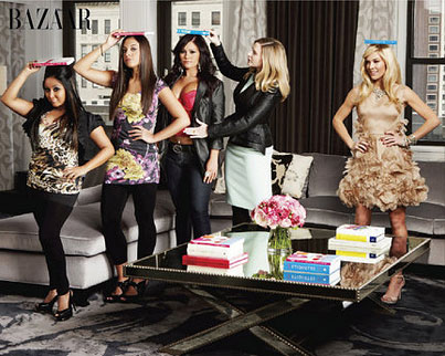 'Jersey Shore' Girls Get Classy Makeover For 'Harper's Bazaar' (PHOTOS)
