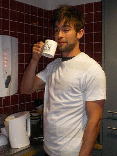 Chace Crawford Cures His Hangover With A Warm Cup Of Dreamy (PHOTOS)