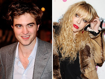 "Courtney Love Says Robert Pattinson is Too ""Silly"" to Play Cobain"
