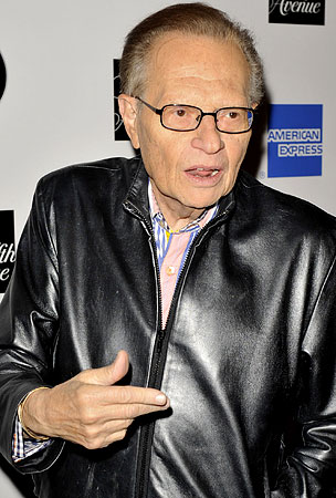Larry King Didn't Get a Prenup From Wife #7, Needs More Practice at Divorce