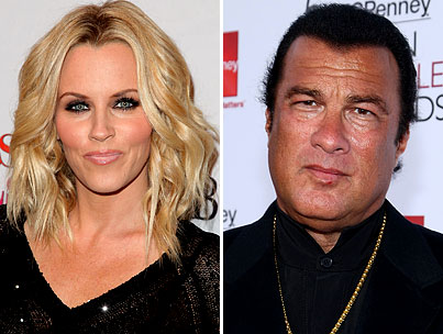 BUZZINGS: Steven Seagal Wanted to See Jenny McCarthy Naked, So He's at Least Kind of Normal