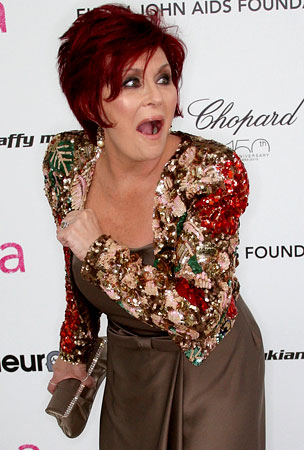 Sharon Osbourne Gets Crafty, Plans To Turn Implants Into Paperweights