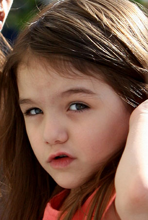 BUZZINGS: Suri Cruise Turns 4. You DID Get Her Something, Right? Uh-Oh…
