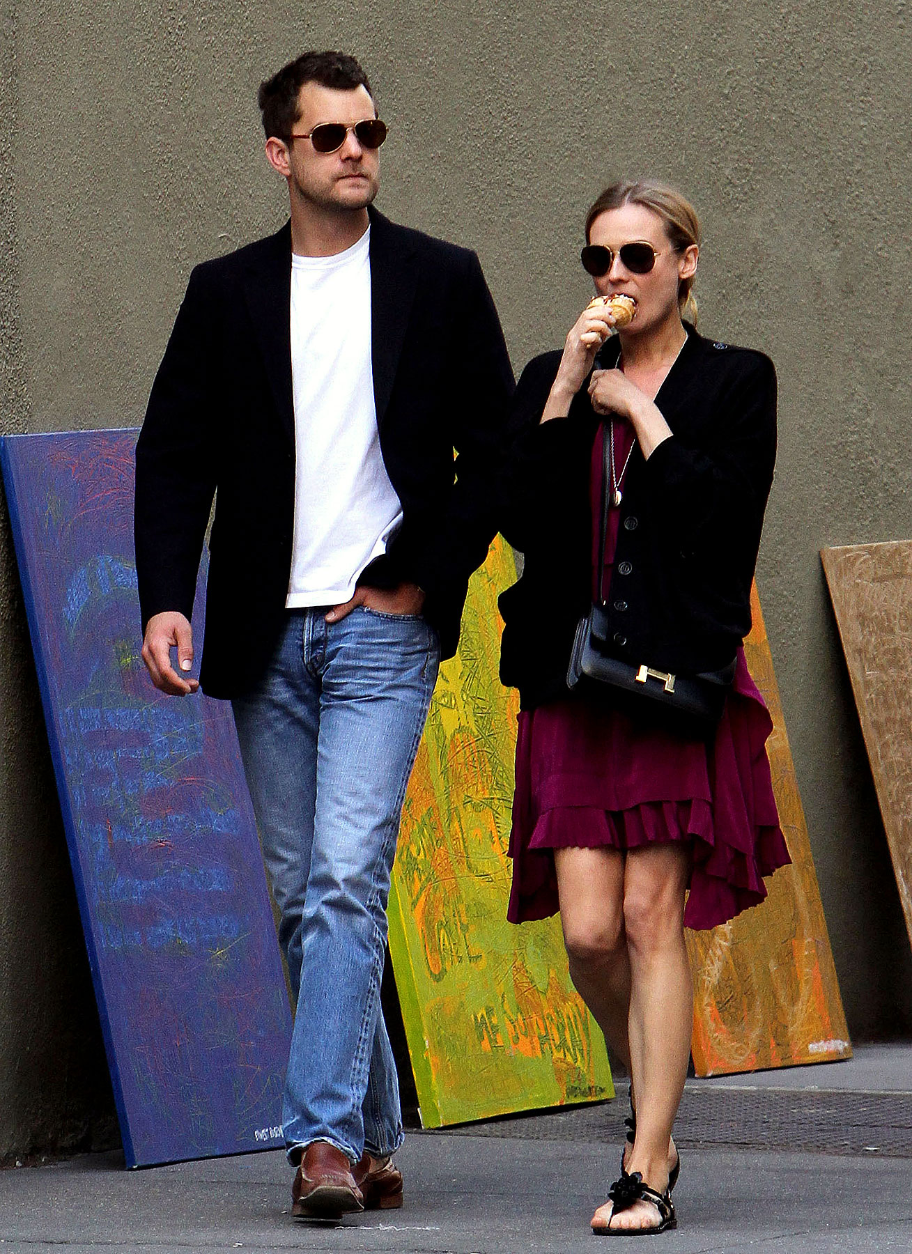 Fashion FTW: Diane Kruger & Joshua Jackson Are Looking Quite Dapper (PHOTOS)
